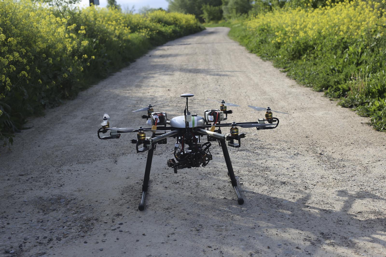 Drone, Drones, Campo, Teledetección, GIS SpectralGeo, Spectral Geo