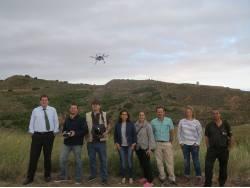 Carlos Tarragona, Drone, Drones, Campo, Teledetección, GIS SpectralGeo, Spectral Geo