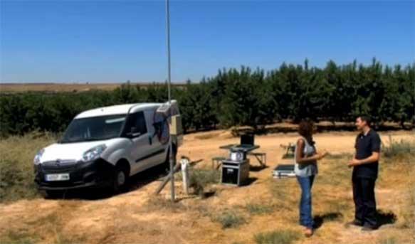 Carlos Tarragona, Drone, Drones, Campo, Teledetección, GIS SpectralGeo, Spectral Geo, AragonTV
