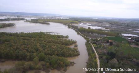 Avenida Del Ebro, A Vista De Dron